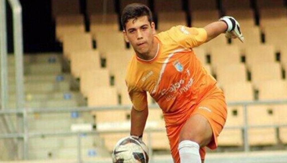 Alfonso Garrucho, portero del Atlético Sanluqueño