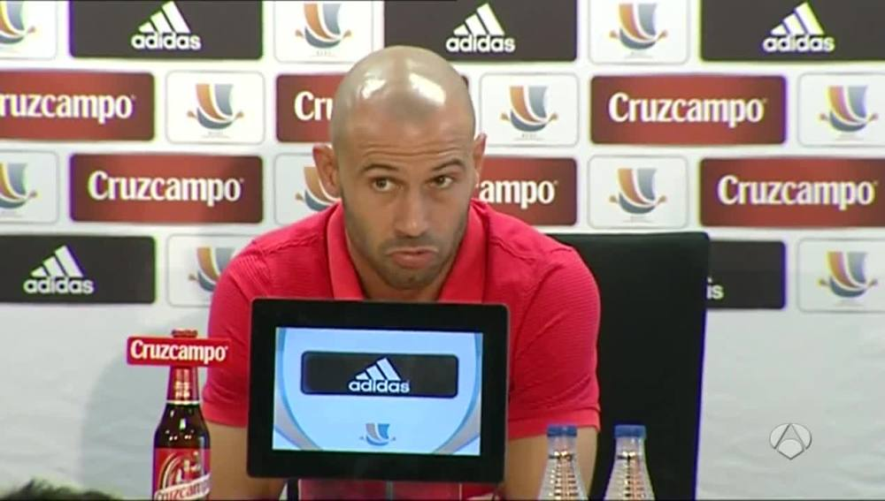 Mascherano habla sobre su posible marcha del Barça
