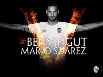 Mario Suárez, nuevo jugador del Valencia