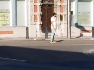 Frame 28.212693 de: Gante vive momentos de angustia por un hombre que ha recorrido armado por sus calles