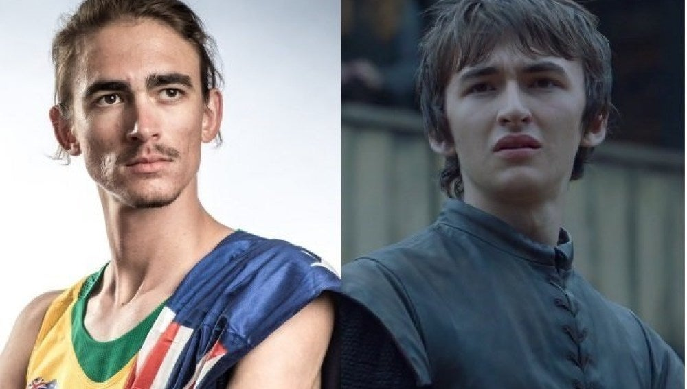 Brandon Starc y Bran Stark