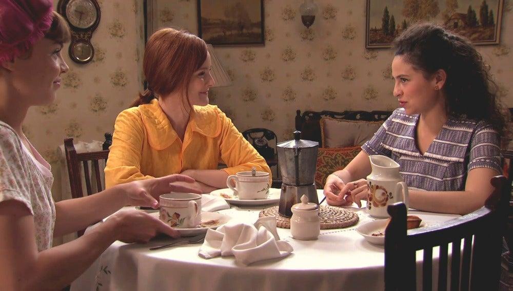 Loli y Carmen hablan de Federico