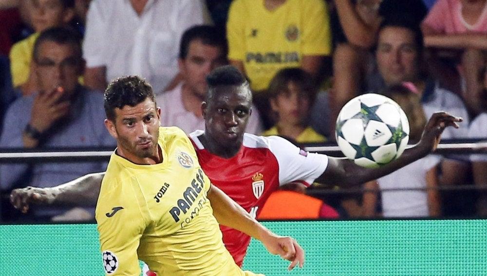 Musacchio, en el partido ante el Villarreal