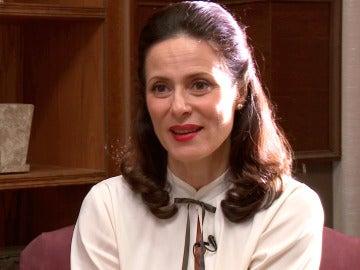 """Aitana Sánchez-Gijón: """"Veremos a Doña Blanca más humana y con sentimientos hacía Emilio"""""""