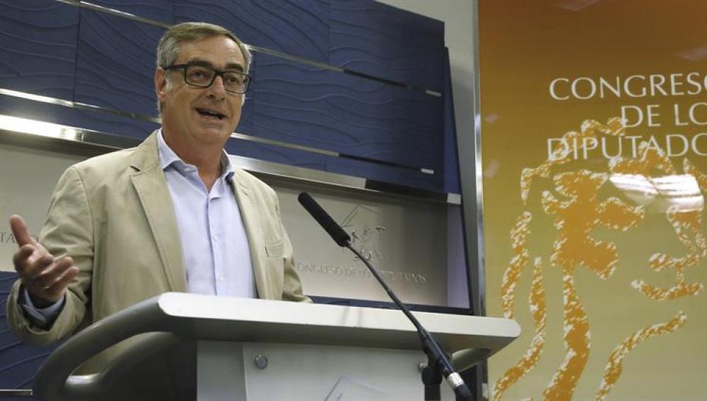 José Manuel de Villegas comparece en el Congreso de los Diputados