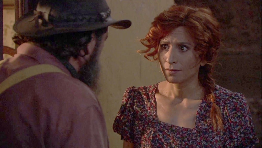 ¿Ha pasado Garrigues toda la noche con Doña Francisca?
