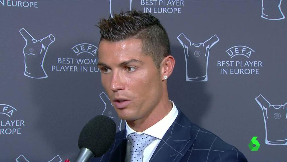 Cristiano Ronaldo, feliz con su exitoso año