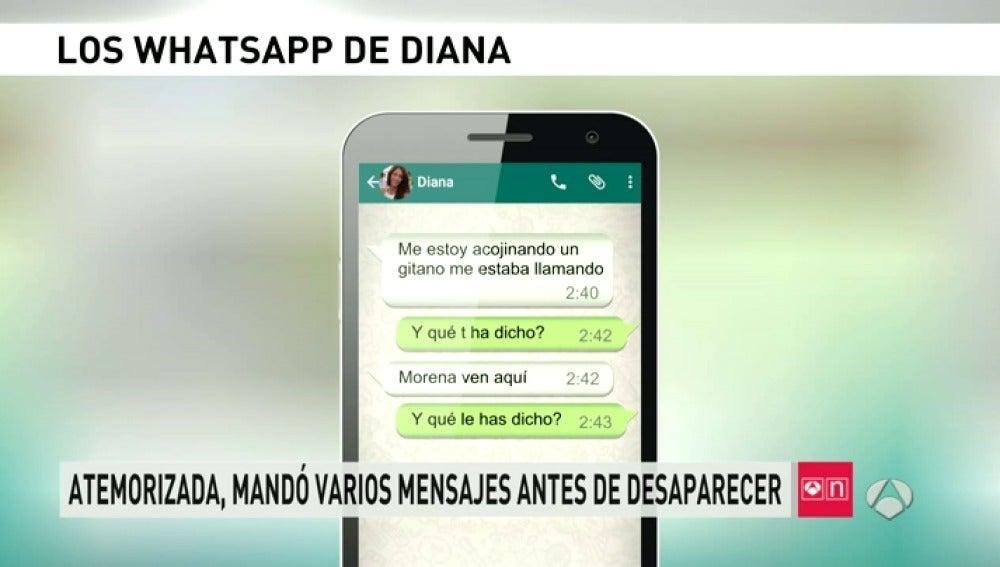 Antena 3 tv la joven desaparecida avis por whatsapp a for Espejo publico diana quer