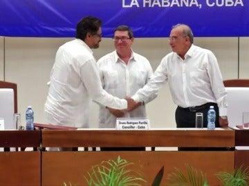 Frame 0.470969 de: Las FARC podrán participar por primera vez como partido en las elecciones de 2018 en Colombia