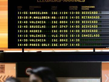 Un avión aterriza de emergencia en Sevilla por fallecimiento de una pasajera