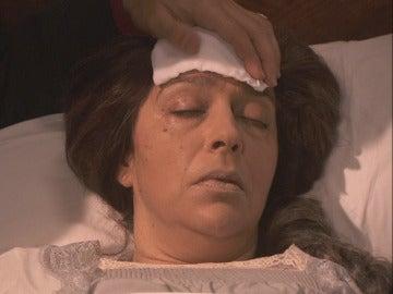 Francisca está muy enferma