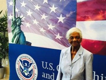 May García, la mujer de 104 años que ha conseguido la nacionalidad estadounidense para votar