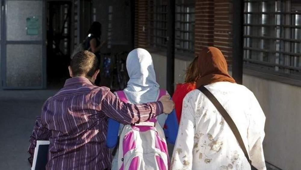 Mujeres con hiyab