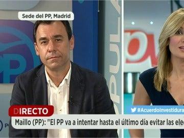 Fernando Martínez Maillo en Espejo Público