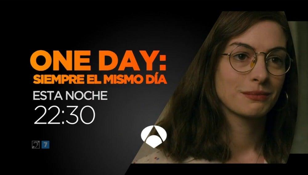 Frame 9.03454 de: Antena 3 emite 'One Day: siempre el mismo día'