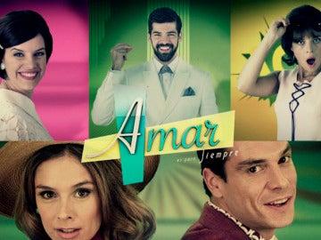La cabecera de la quinta temporada de 'Amar es para siempre'