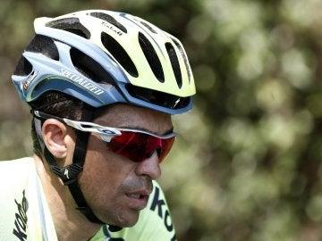 Contador acabó sexto en la etapa reina de la Vuelta 2016