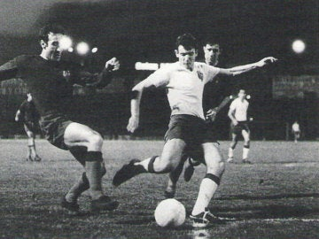 Miguel Ángel Bustillo jugó en el Real Zaragoza entre 1966 y 1969