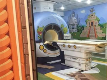 Escáner infantil en un hospital argentino