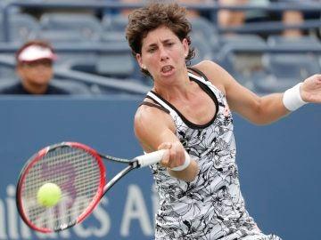 Carla Suárez, eliminada en los octavos del US Open.