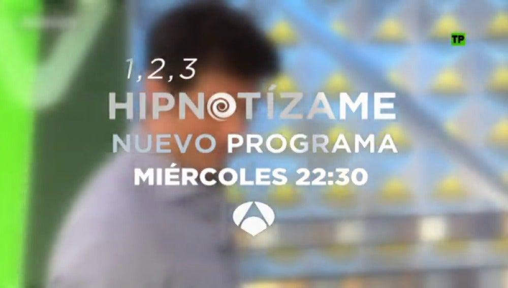 Frame 9.755852 de: 1, 2, 3, Hipnotizame regresa el miércoles a Antena 3