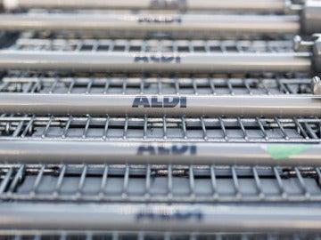 Carritos del supermercado Aldi
