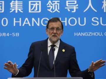 Mariano Rajoy comparece tras la cumbre del G20