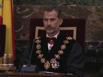 Frame 85.518253 de: El Rey inaugura el Año Judicial en España, aún sin Gobierno