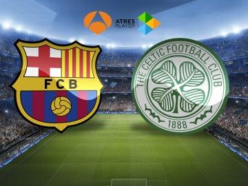 El Barça-Celtic se juega en Atresmedia