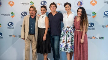 Manel Fuentes, Chenoe, Roda López, Beatriz Luengo y Juan Muñoz