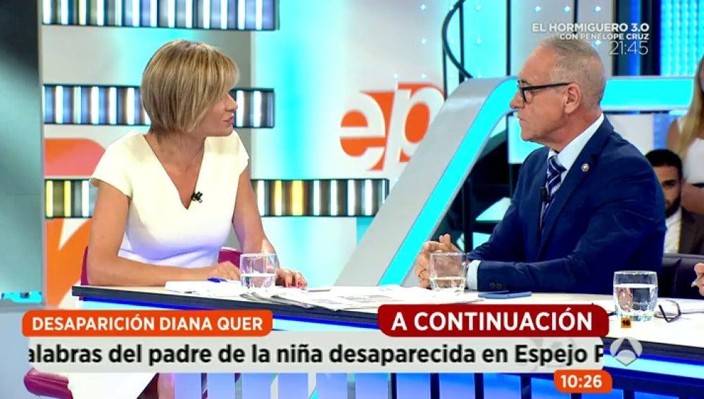 Antena 3 tv portavoz de la madre de diana no podemos for Espejo publico diana quer