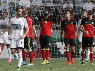 Bélgica arrolla a Chipre en el debut oficial de Roberto Martínez.