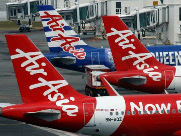Aviones de AirAsia