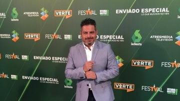 Jalis de la Serna presenta el nuevo programa 'Enviado Especial'