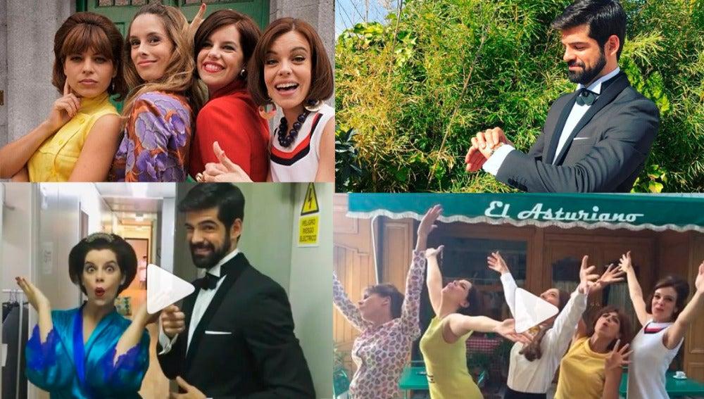La quinta temporada de 'Amar' se vive en las redes sociales de los protagonistas