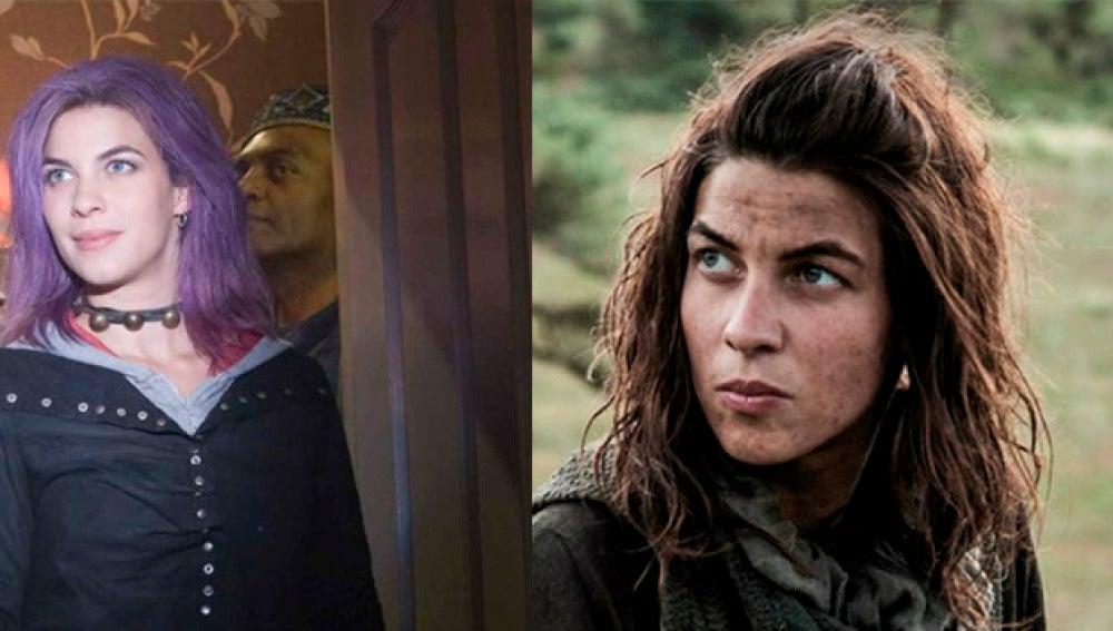 Natalia Tena en 'Harry Potter' y 'Juego de Tronos'