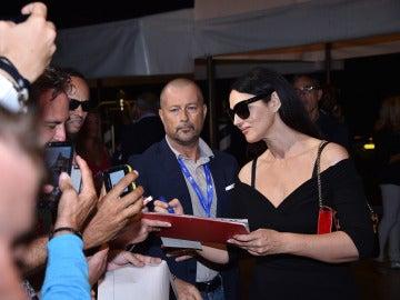 Monica Bellucci en el Festival de Venecia