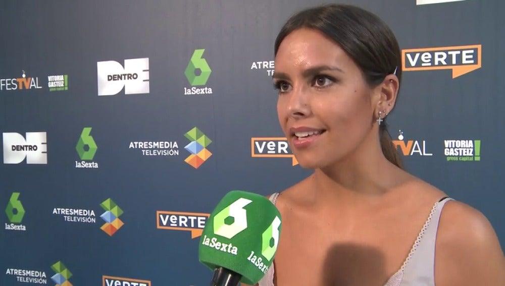 Frame 19.592119 de: Cristina Pedroche presenta su nuevo programa en laSexta 'Dentro de' en el FesTVal de Vitoria