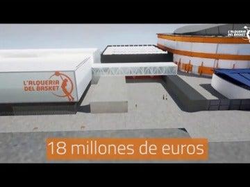Frame 31.223068 de: Juan Roig dedica 18 millones de euros para la construcción de la mayor instalación de baloncesto base de Europa