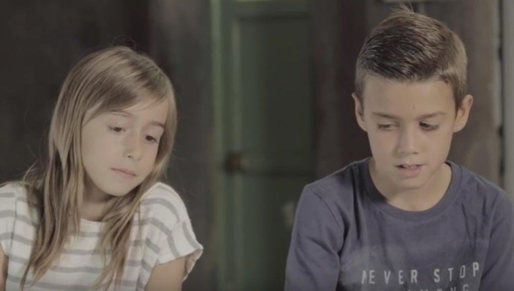 Niños españoles hablan sobre la crisis de refugiados