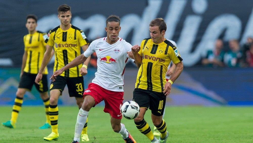 El Borussia Dortmund no pudo con el Leipzig en casa