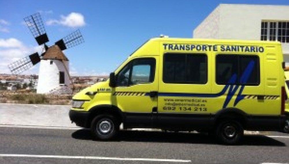 Ambulancia de Canarias