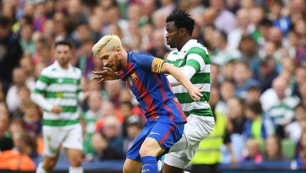 Barcelona y Celtic ya se vieron las caras en pretemporada