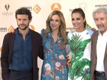 Los protagonistas de 'Velvet' nos avanzan detalles de sus personajes en el FesTVal de Vitoria