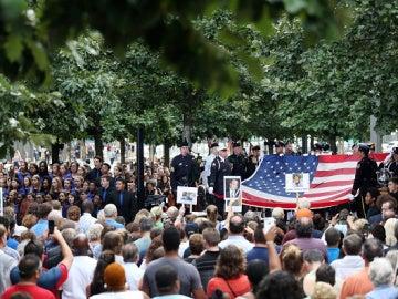 Minuto de silencio por las víctimas del 11S