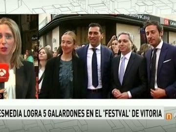 Frame 27.571752 de: 'Tu Cara Me Suena', 'Mar de Plástico' y '7D: el Debate Decisivo', galardonados en la clausura del FesTVal de Vitoria 2016