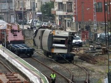 Retirada de la locomotora del tren