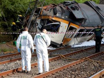 Imagen de archivo del accidente de O Porriño