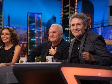 Víctor Manuel, Ana Belén, Serrat y Miguel Ríos