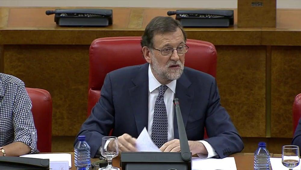 """Frame 2.244526 de: Rajoy. """"Defendemos nuestro derecho a gobernar"""""""